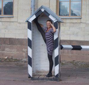 Me in St Petersberg